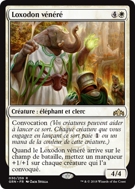 Image descriptive de l'article Loxodon vénéré